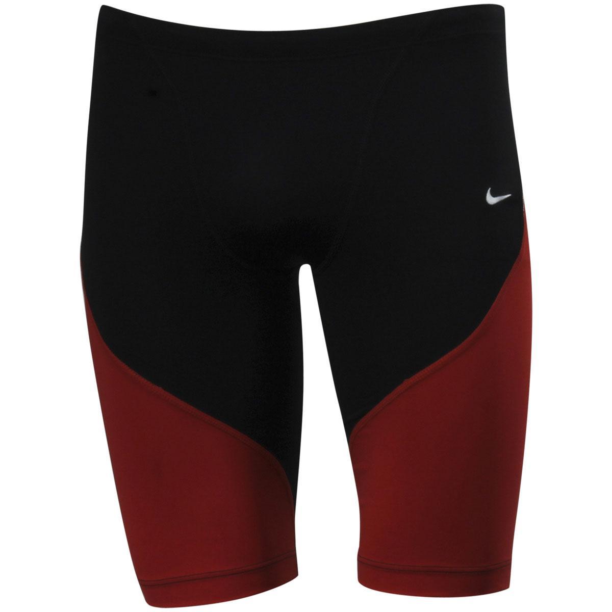 Nike Men's Poly Color Surge Jammer Performance Swimwear