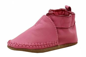 Robeez Mini Shoez Infant Girl's Classic Moccasin Fashion Leather Shoes UPC: