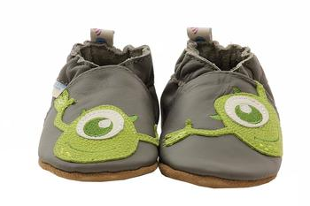 Robeez Disney Mini Shoez Infant Boy's Monsters Inc Leather Slip On Shoes