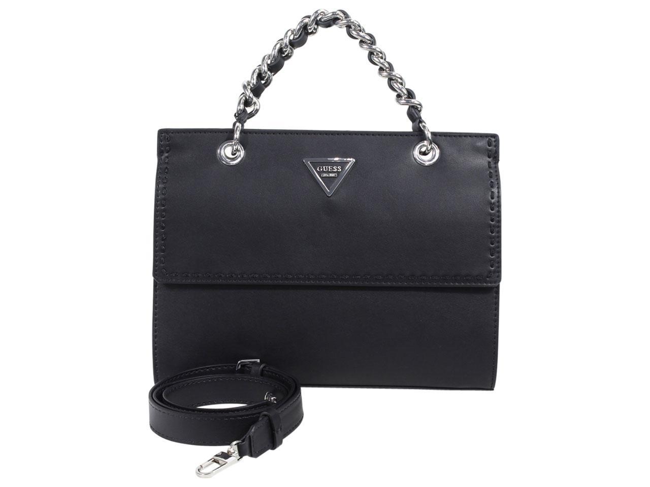 Guess Women's Sawyer Chain Crossbody Satchel Handbag
