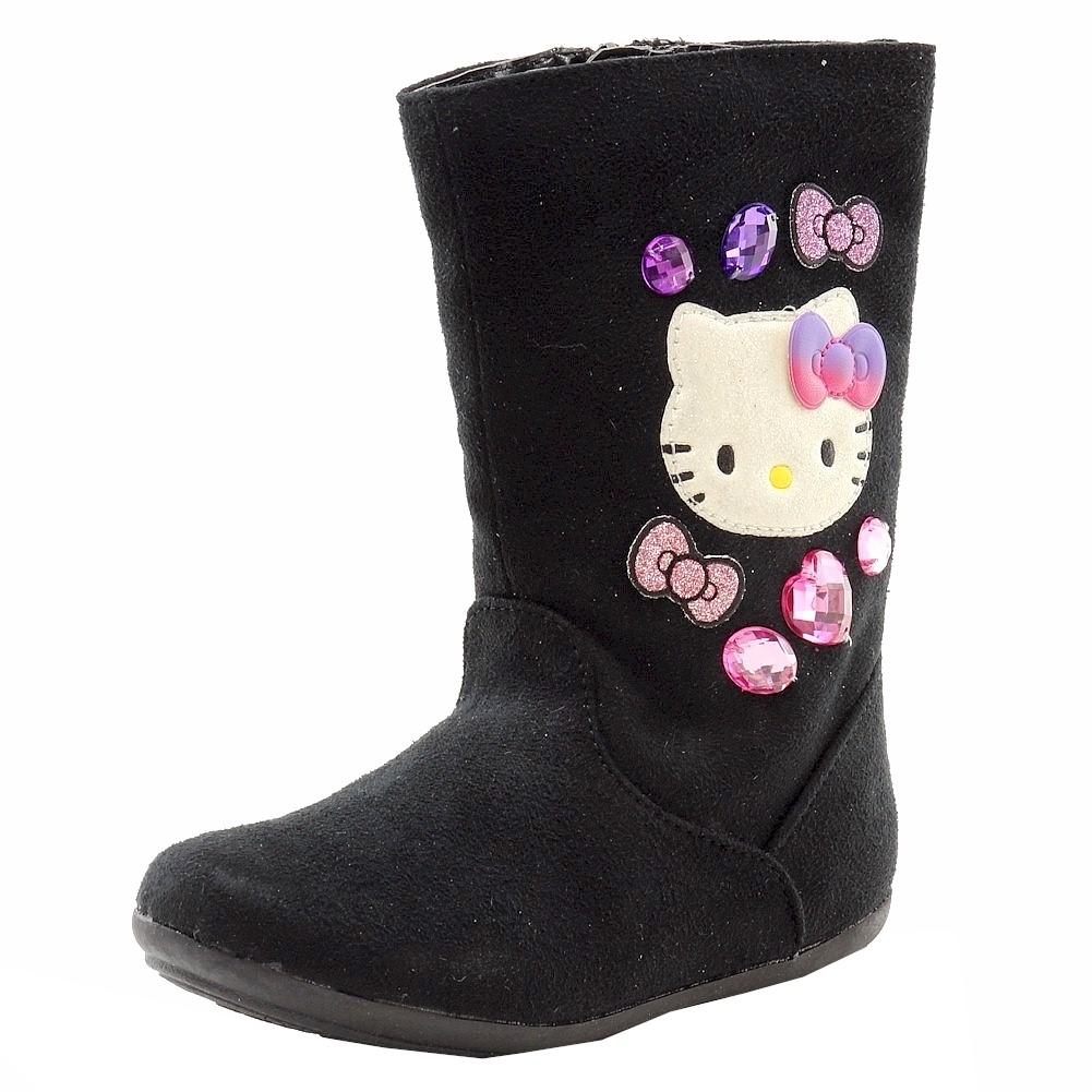 94cf554b8fbe Hello Kitty Toddler Girl's HK Davina Fashion Boots Shoes