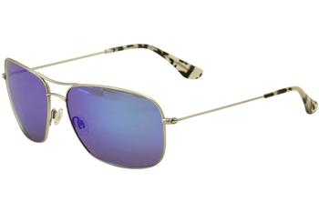 5f1a1a66fc Maui Jim Men s Breeze Way MJ773 MJ 773 Polarized Pilot Fashion Sunglasses