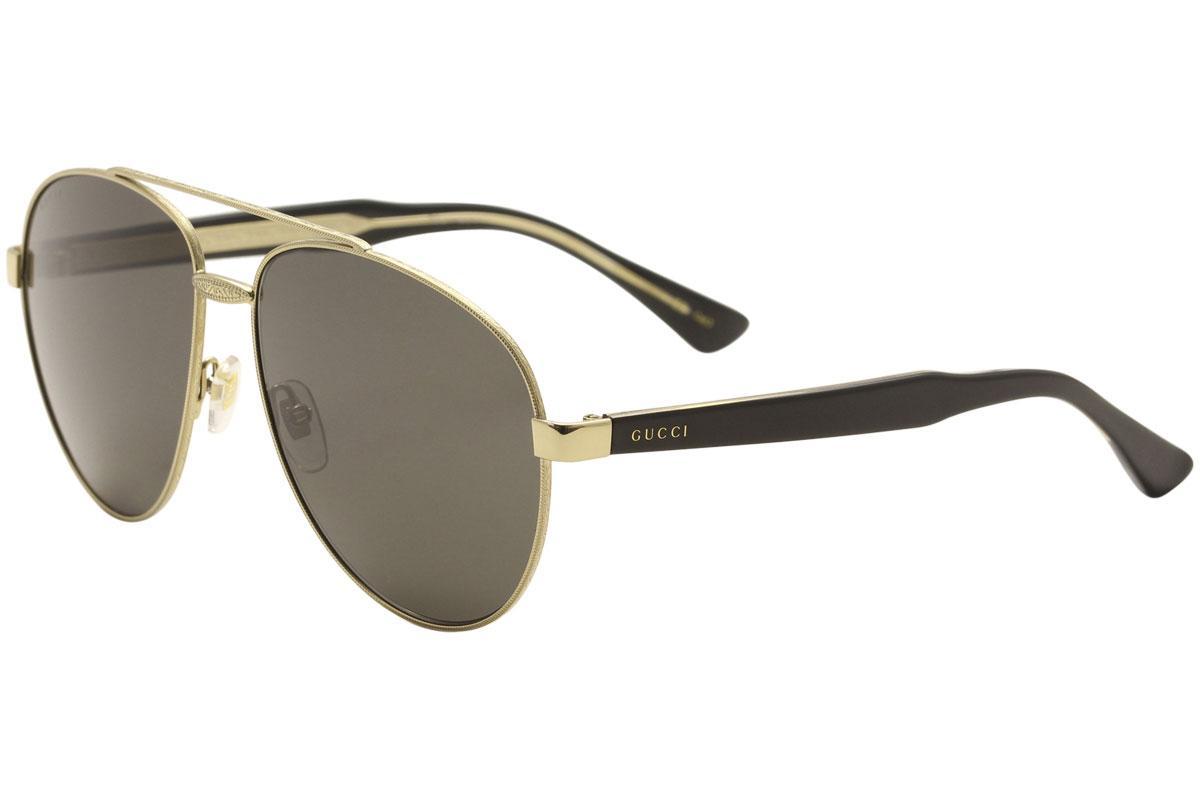 5bf7fe48652 Gucci Men s Fashion Inspired GG0054S GG 0054 S Pilot Sunglasses