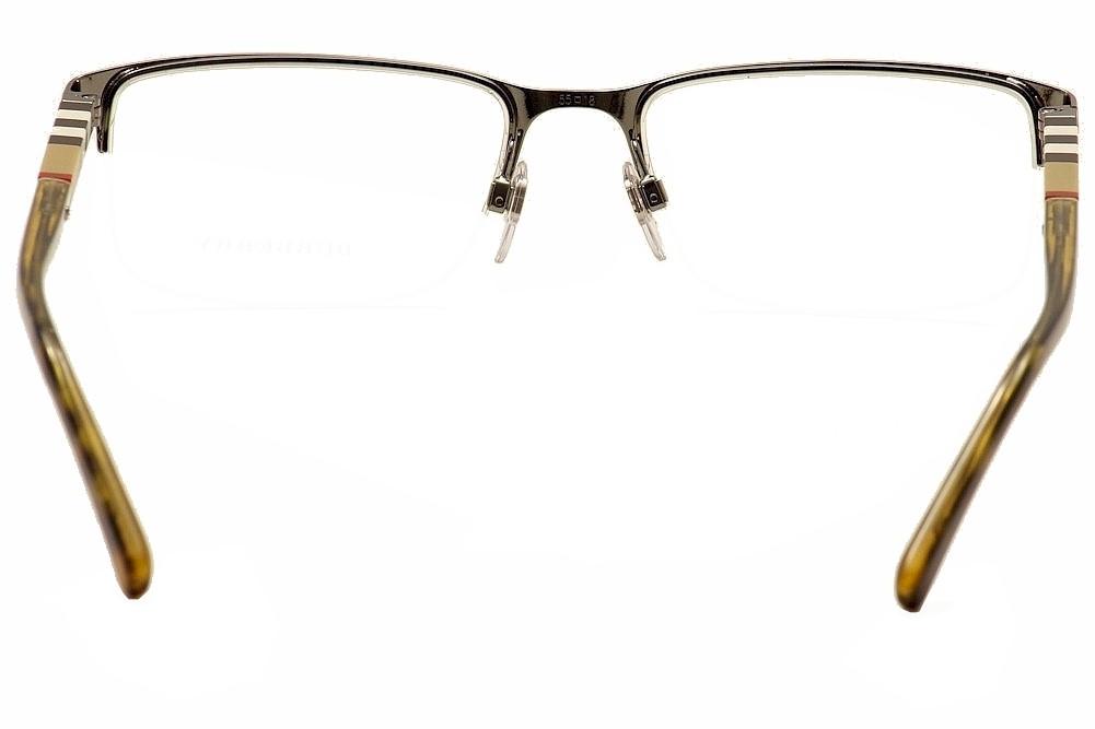 Burberry Men\'s Eyeglasses BE1282 BE/1282 Half-Rim Optical Frame