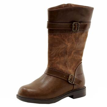 Nine West Girl's Casey Mid-Calf Fashion Riding Boots Shoes  UPC: