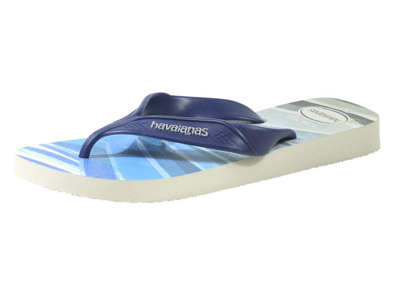72583c0657eb4 Havaianas Men s Surf Flip Flops Sandals Shoes