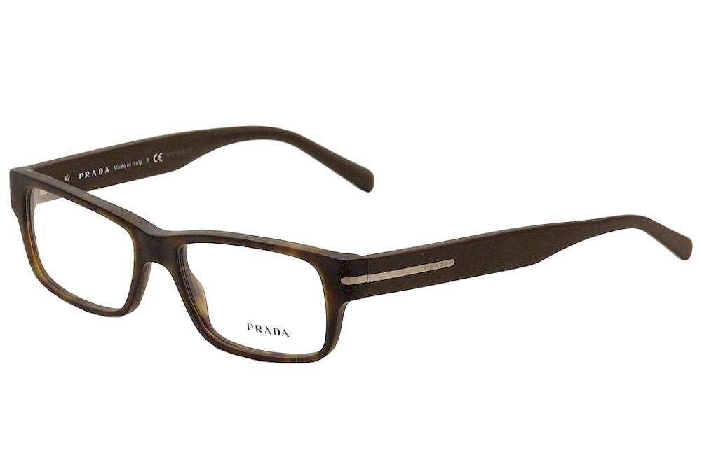 Prada Men\'s Eyeglasses VPR22R 22/R Full Rim Optical Frame