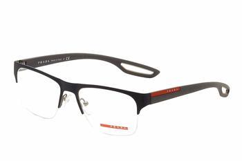 cc527b10c1 Prada Linea Rossa Men s Eyeglasses VPS55F VPS 55F Half Rim Optical Frame by Prada  Linea Rossa