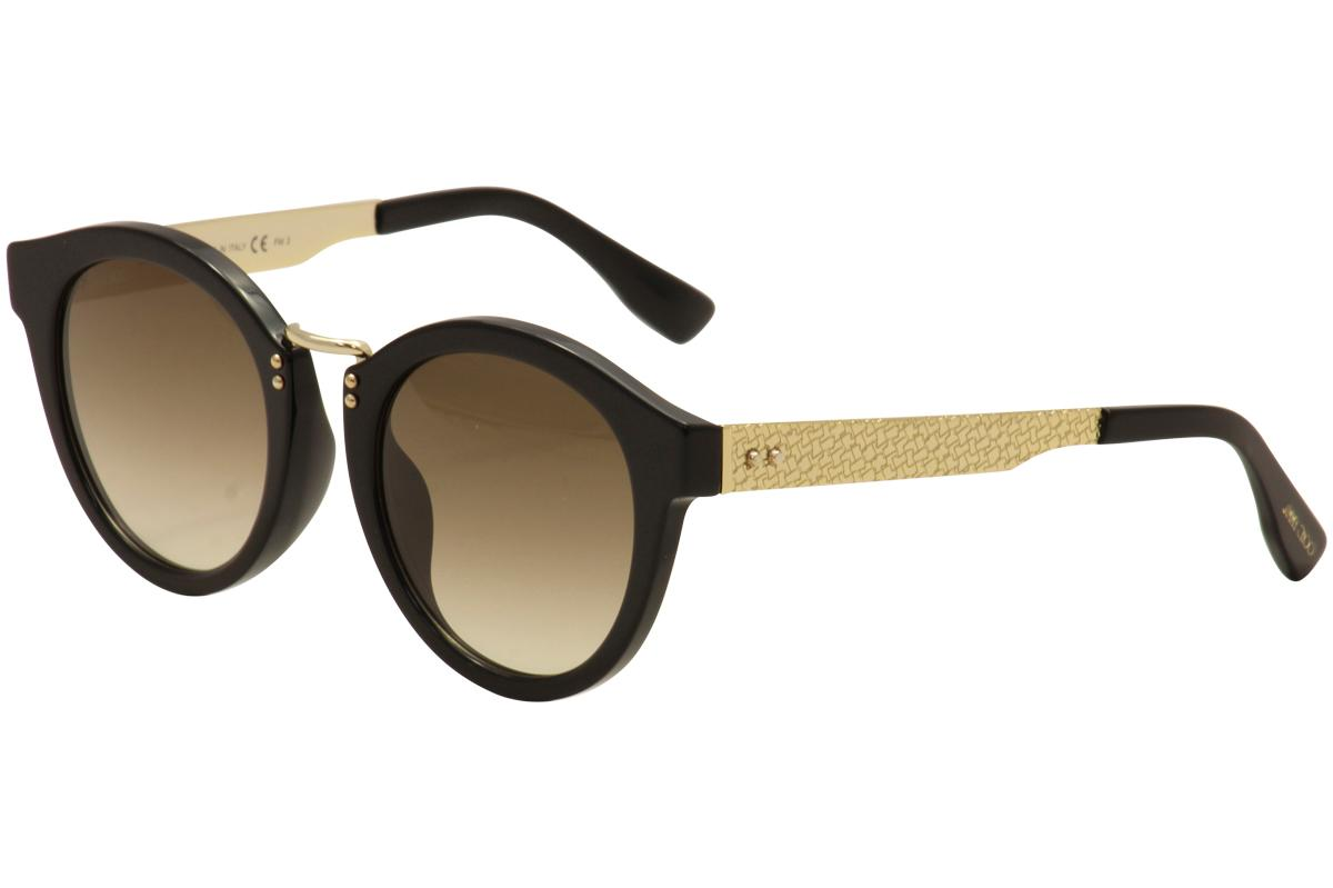 Image of Jimmy Choo Women's Pepy/S Fashion Round Sunglasses - none - Lens 50 Bridge 22 Temple 140mm