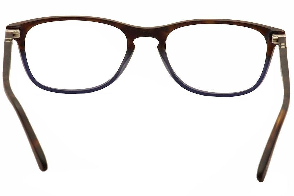 fb2317eb61286 Persol Eyeglasses 3116V 3116-V Full Rim Optical Frame by Persol. 1234567.  1234567. Color  Terra E Oceano Havana - 9033