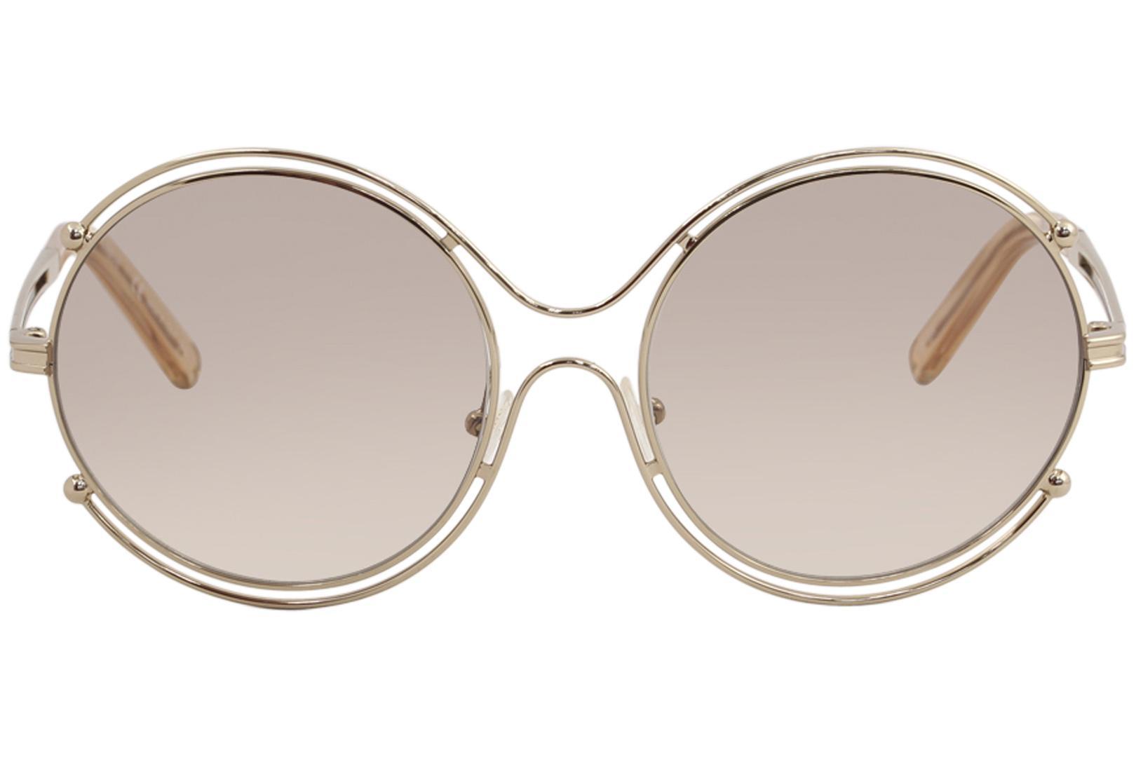 604cede411d8 Chloe Women s CE 122S CE122S Fashion Round Sunglasses