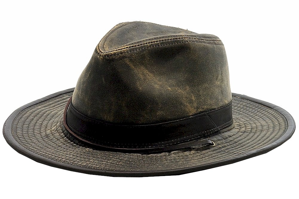 1c460610cf1 Dorfman Pacific Men s Weathered Outback Hat