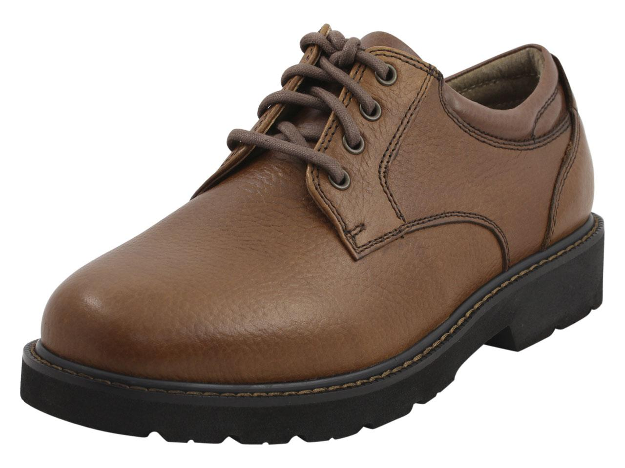 Image of Dockers Men's Shelter Water Repellent Oxfords Shoes - Brown - 13 D(M) US