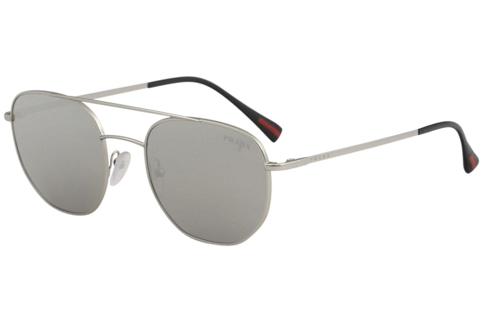 3a2d6f2ebc83 Prada Linea Rossa Men s SPS56S SPS 56S Fashion Pilot Sunglasses