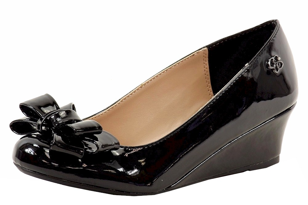 122493c69e9a Jessica Simpson Girl s Glee Fashion Wedge Heel Shoes