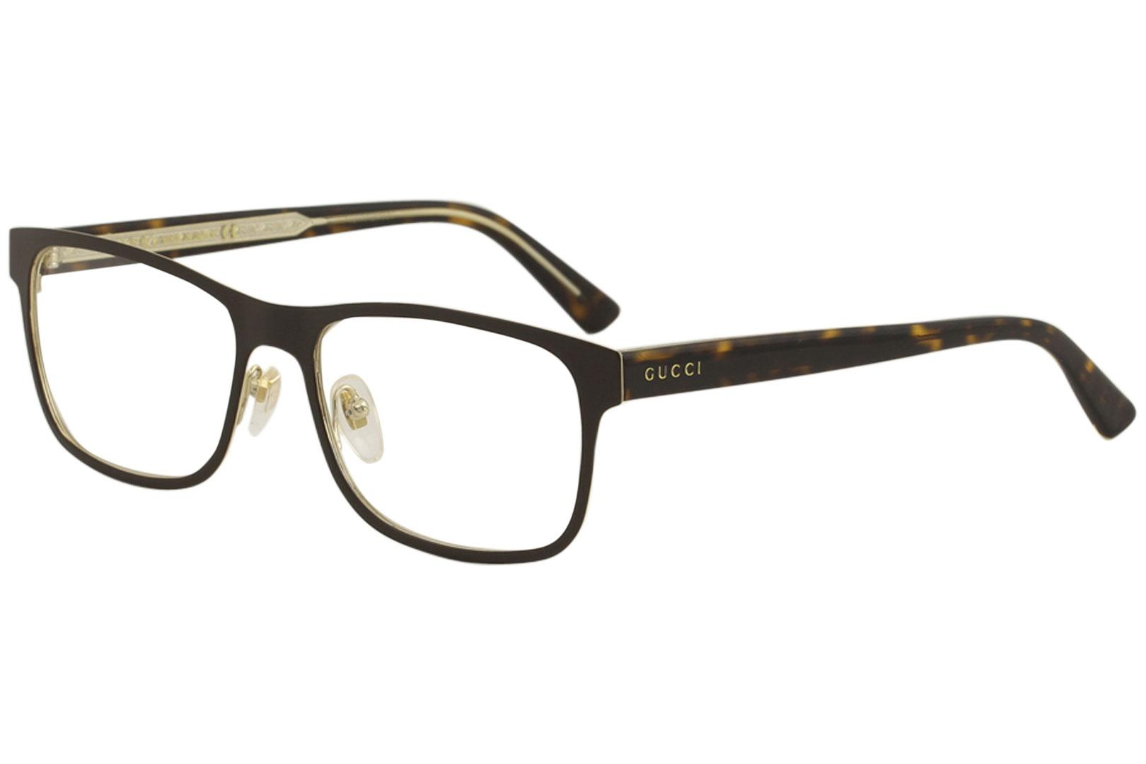 8677c7d0cdae Gucci Women s Eyeglasses GG0317O GG 0317 O Full Rim Optical Frame
