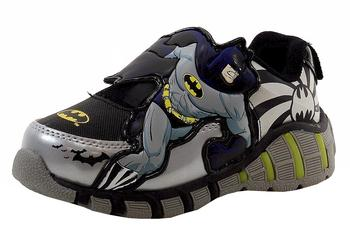 Batman Toddler Boy's Fashion Light Up Sneakers Shoes  UPC: