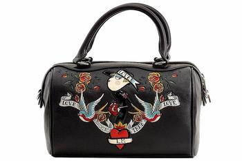 Love Moschino Women's Printed Saffiano Satchel Handbag  UPC: