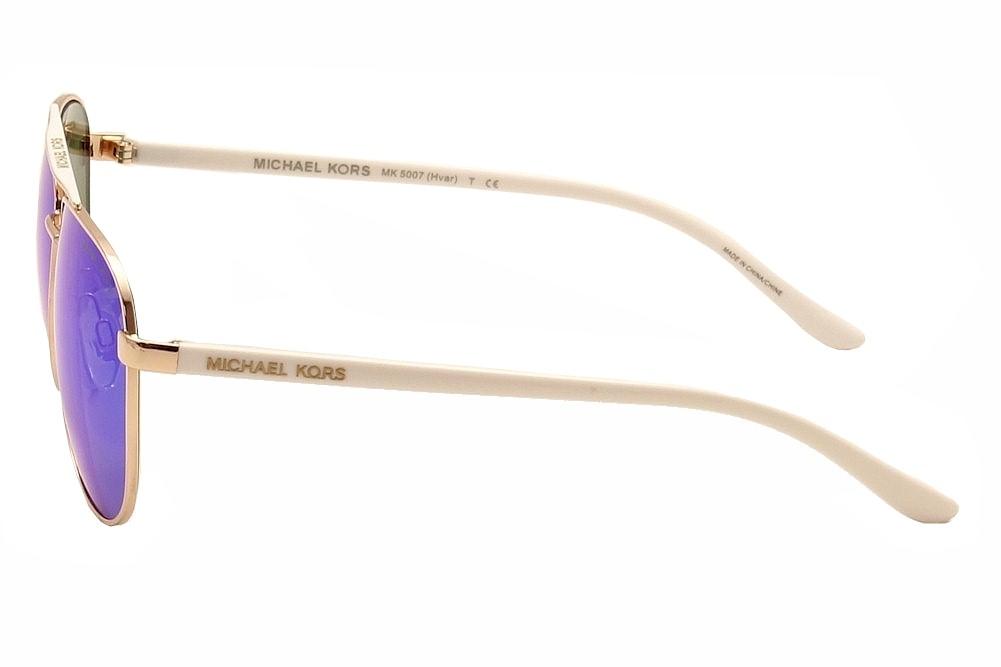 1a9525cf9 Michael Kors Women's Hvar MK5007 MK/5007 Pilot Sunglasses by Michael Kors