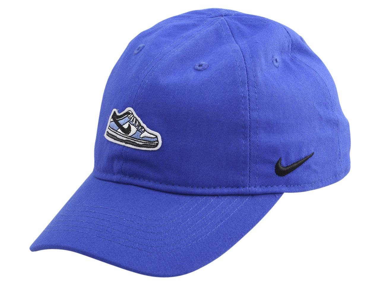 Nike Little Boy's Shoe Patch Strapback Cotton Baseball Cap Hat
