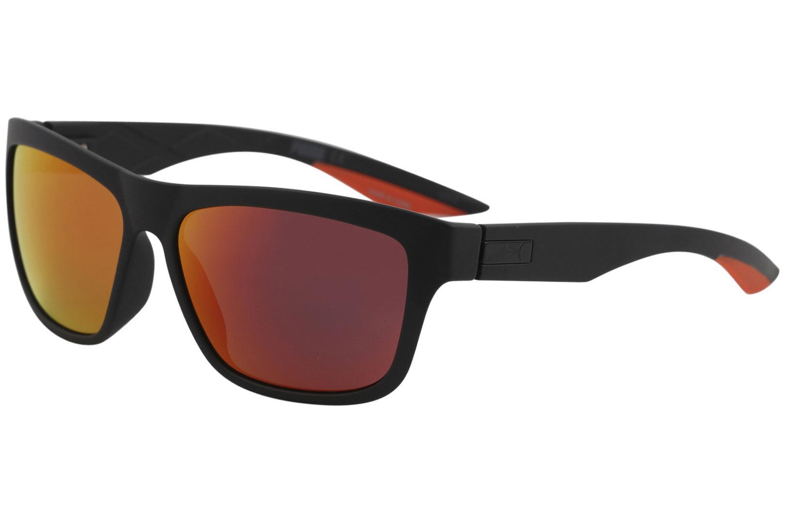 0f570a340d Puma Men s Exo Reverse 2 PU0060S PU 0060 S Sport Square Polarized Sunglasses
