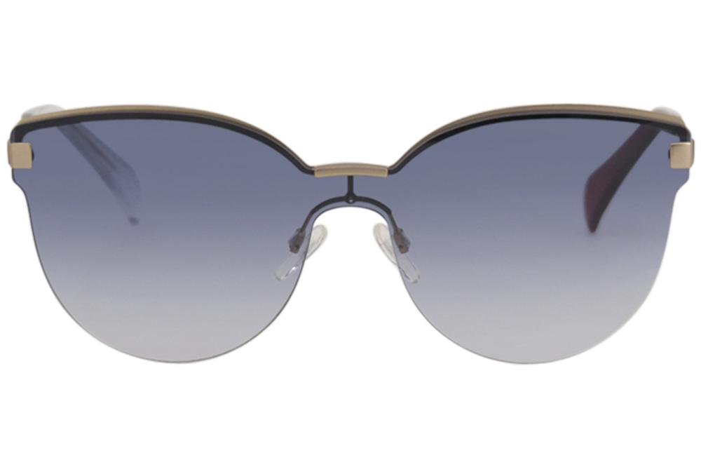 6f4ce5e6681a Tommy Hilfiger Women's TH1378S TH1378/S Cat Eye Shield Sunglasses by Tommy  Hilfiger