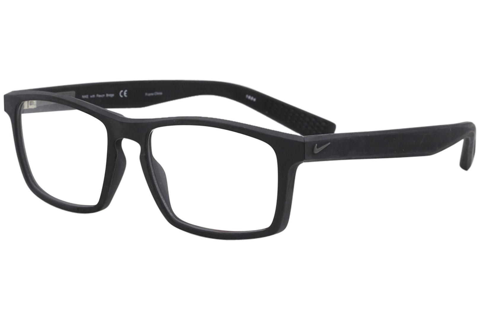 6b3ef507a6 Nike Men s Eyeglasses 4258 Full Rim Flexon Optical Frame