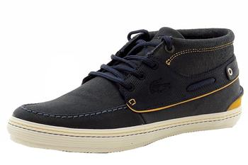 Lacoste Men's Meyssac Deck Chukka Sneakers Shoes  UPC: