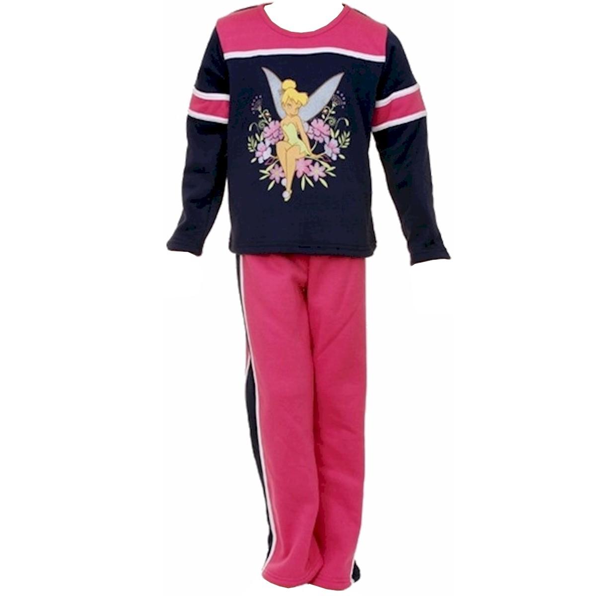Disney Fairies Tinker Bell Girls 2pc. Fleece Set Tinkerbell