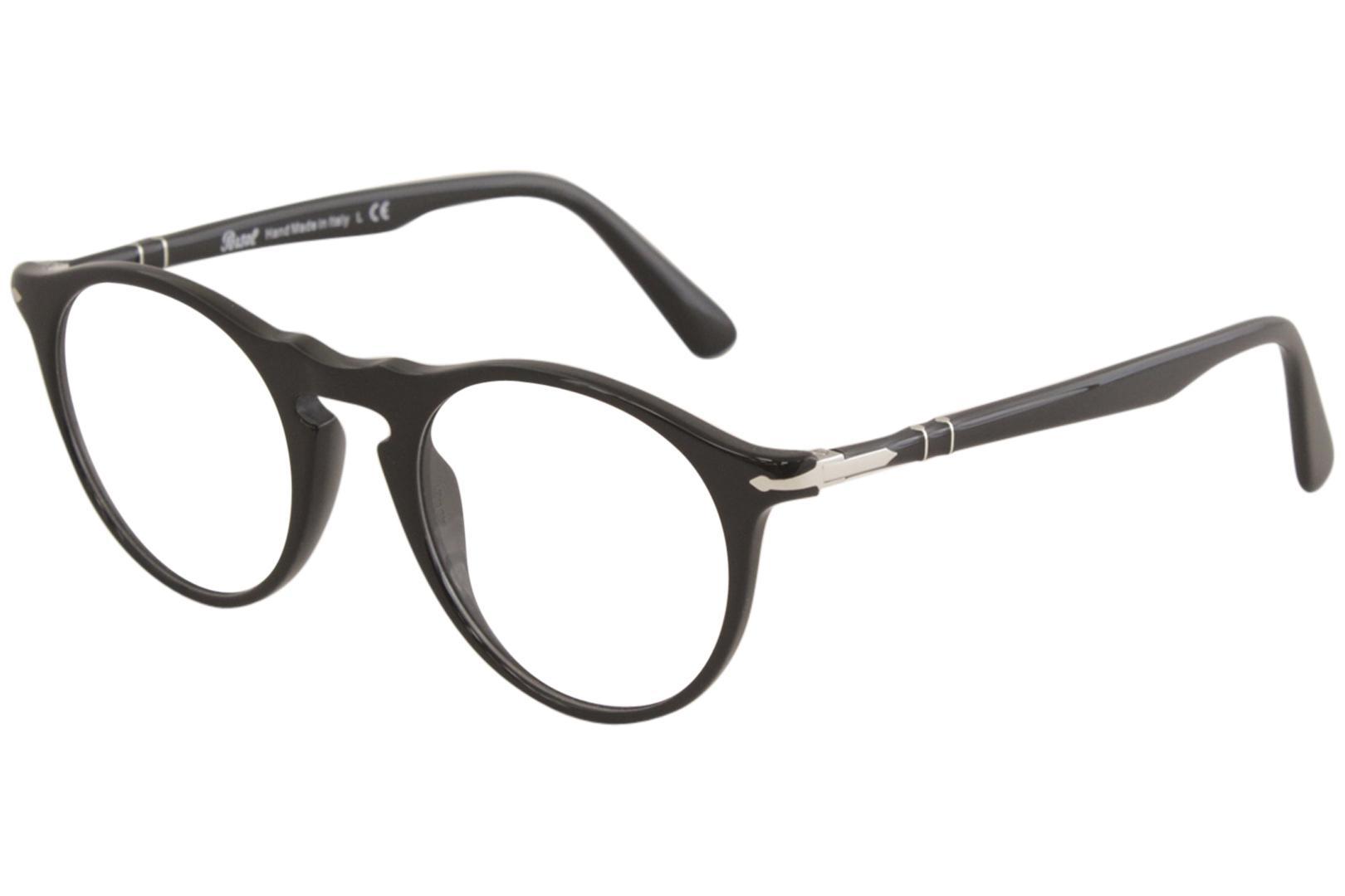 2dd0630f3bc71 Persol Women s Eyeglasses PO3201V PO 3201 V 95 Black Full Rim ...