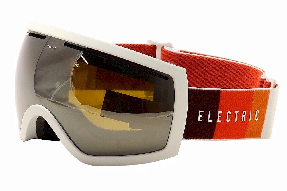 Image of Electric EG2.5 EG0715 EG/0715 Ergonomic Snow Goggles - White