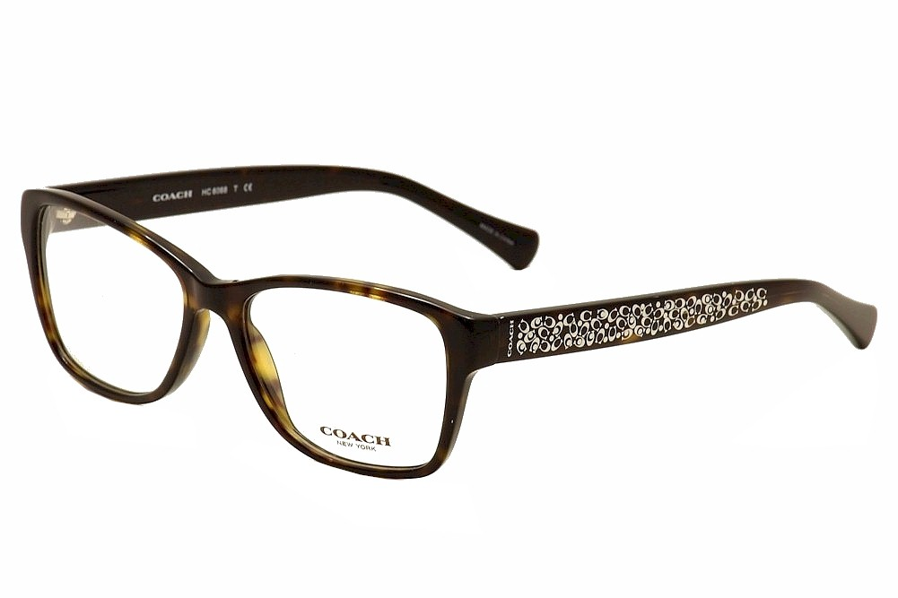 coach womens eyeglasses hc6068 hc6068 full rim optical frame by coach - Mk Glasses Frames