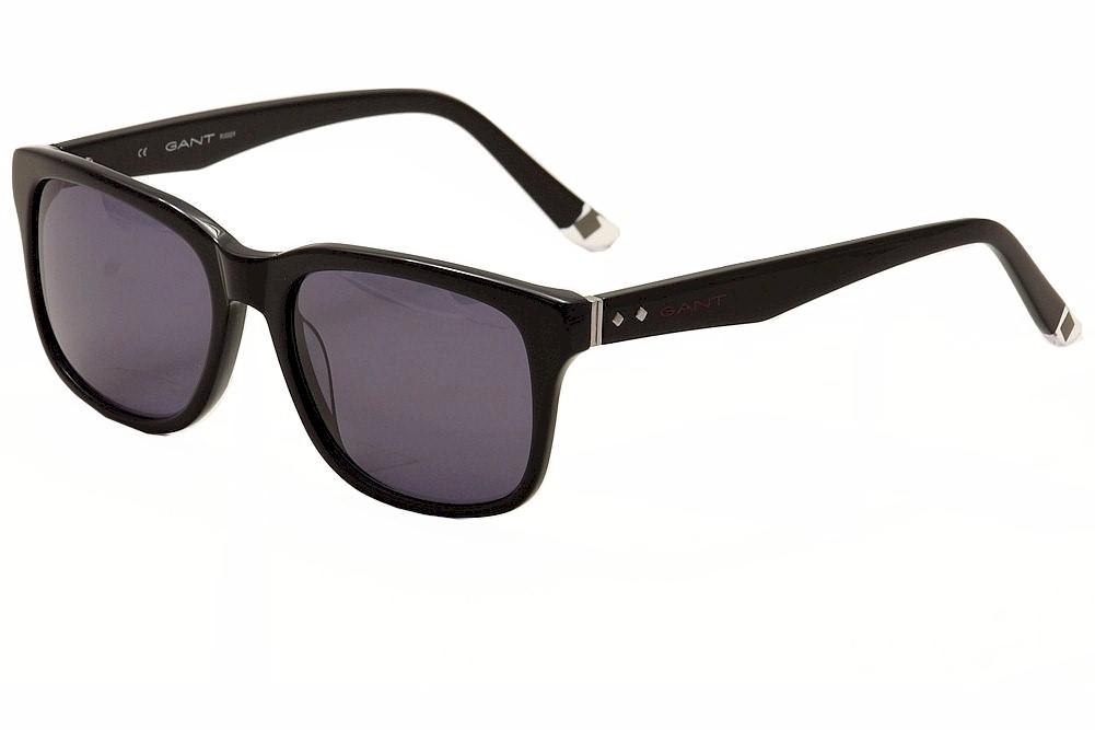 Image of Gant Rugger Men's GRS2006 GRS/2006 Fashion Sunglasses - Black - Lens 55 Bridge 17 Temple 145mm