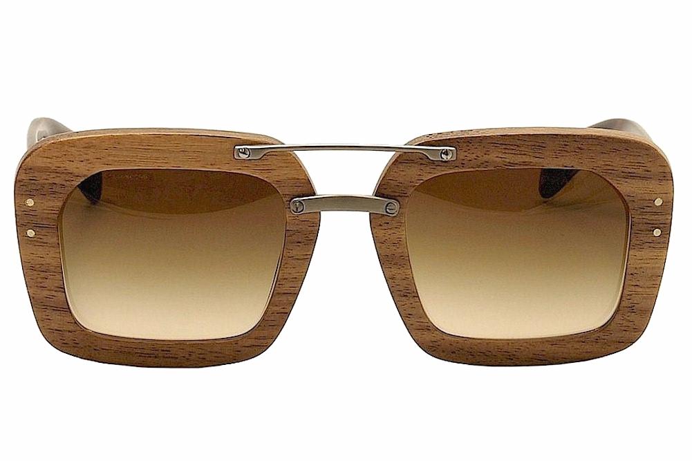028ea10cc32e Prada SPR30R SPR 30R Wood Fashion Sunglasses by Prada. 1234567