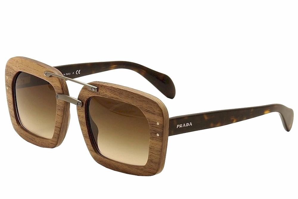 39a2da6729 Prada SPR30R SPR 30R Wood Fashion Sunglasses