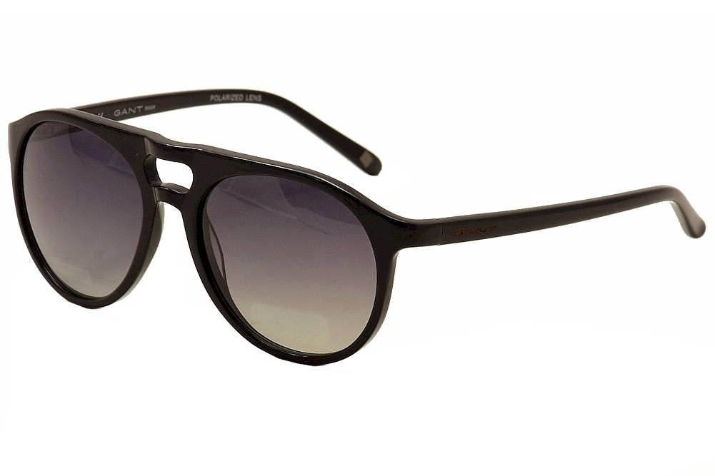 Image of Gant Rugger Men's Nelson Fashion Sunglasses - Black - Lens 53 Bridge 17 Temple 135mm