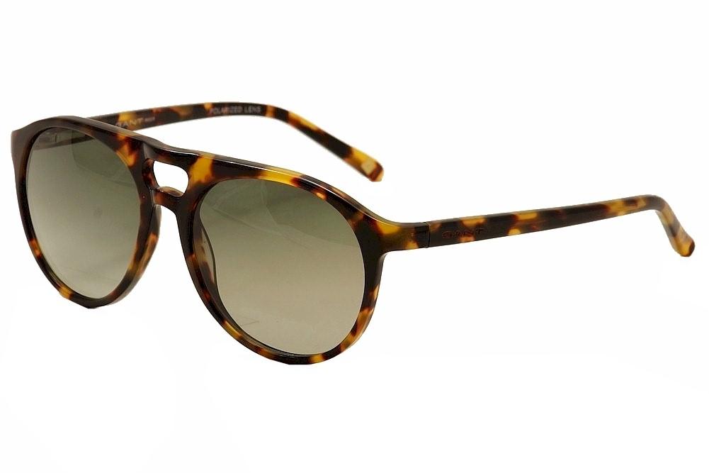 Image of Gant Rugger Men's Nelson Fashion Sunglasses - Brown - Lens 53 Bridge 17 Temple 135mm