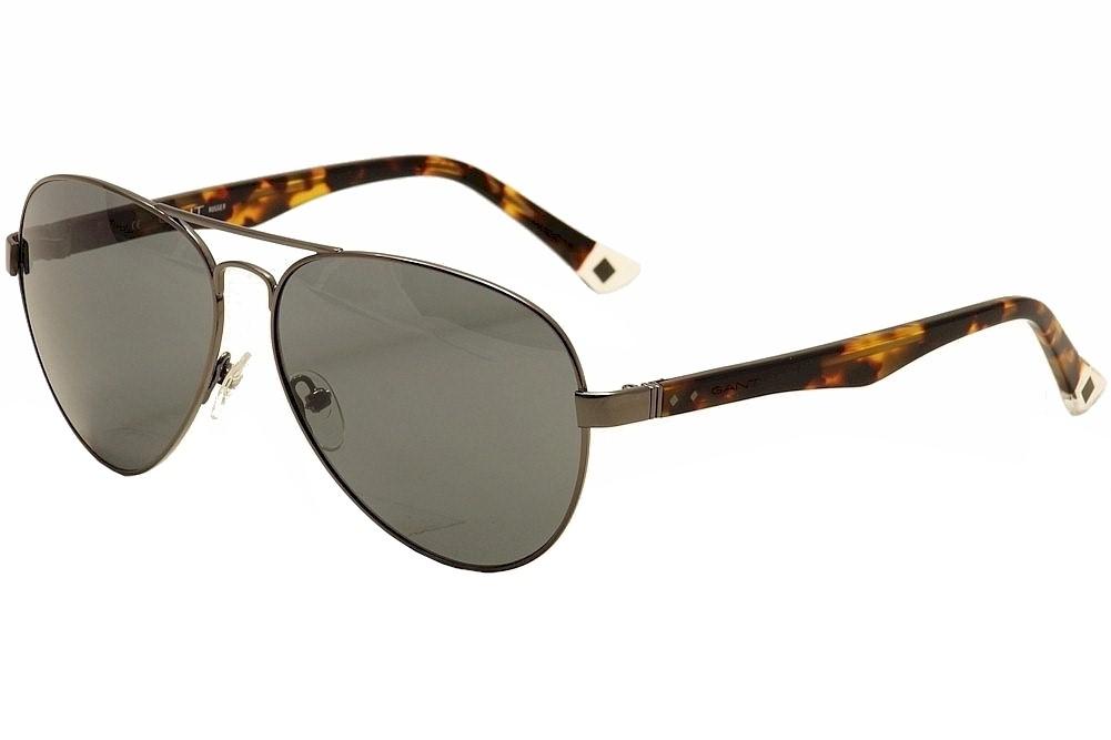 Image of Gant Rugger Men's GRS2000 GRS/2000 Fashion Pilot Sunglasses - Grey - Lens 59 Bridge 14 Temple 140mm