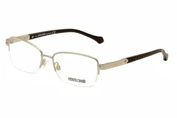 Roberto Cavalli Women's Eyeglasses La Digue RC0761 0761 Half Rim Optical Frame UPC: