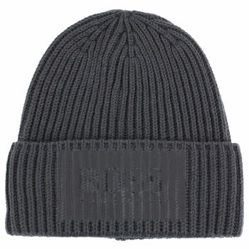 Hugo Boss Men's Beanie_Fuse Ribbed Knit Beanie Hat (One Size Fits Most)