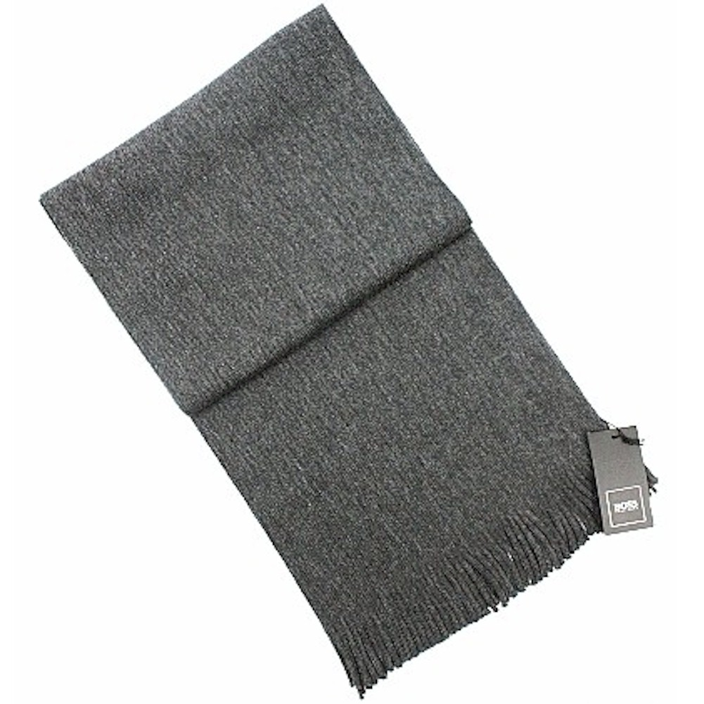 Hugo Boss Men s Albas Fringe Knit Fashion Scarf