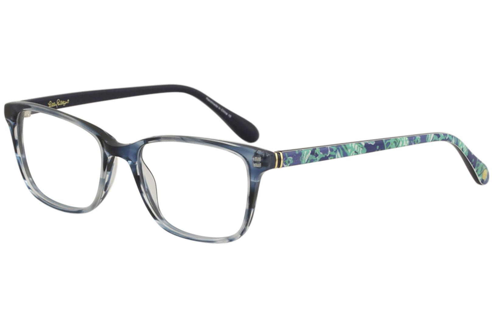 Lilly Pulitzer Women\'s Eyeglasses Delfina Full Rim Optical Frame