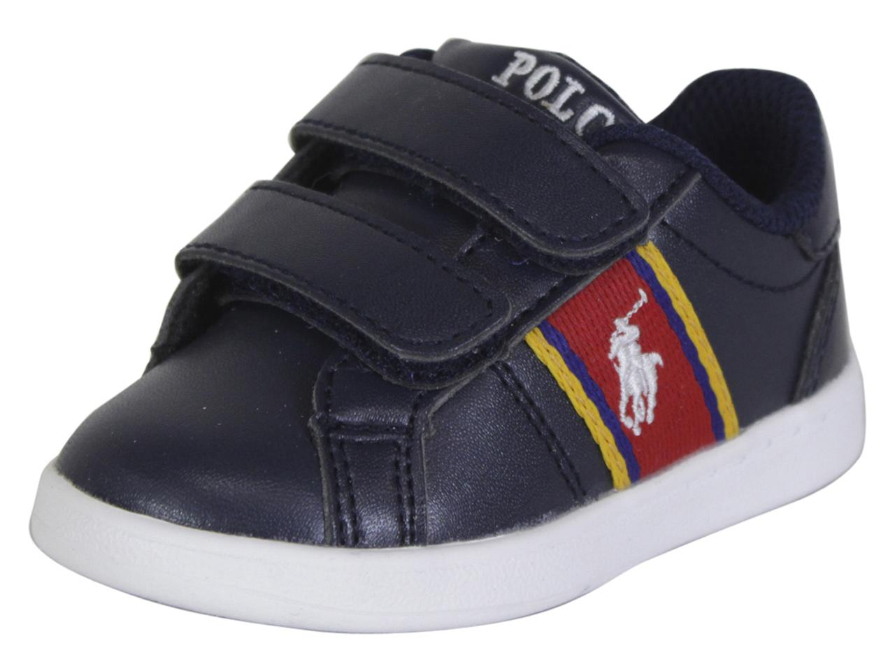 Polo Ralph Lauren Toddler/Little Boy's Quigley-EZ Sneakers ...