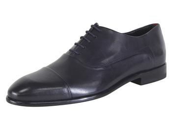 Hugo Boss Men's Appeal Leather Cap Toe Oxfords Shoes