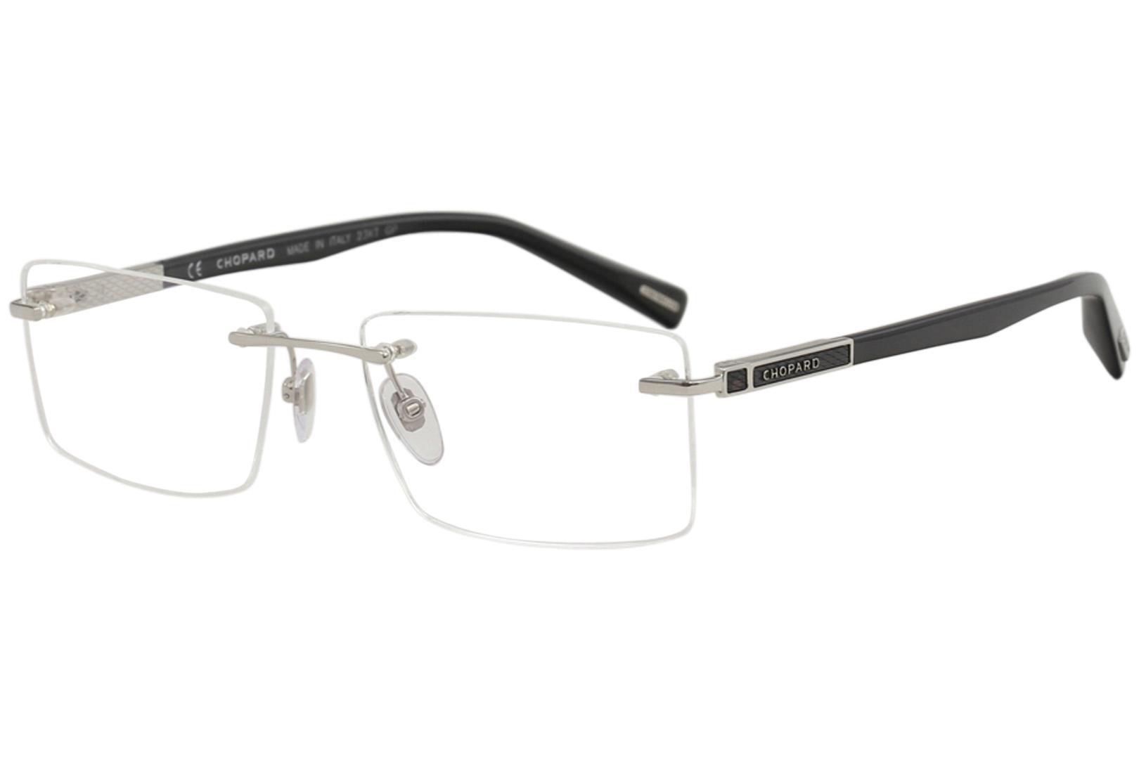 c8ccf0c0cc Chopard Men s Eyeglasses VCHB93 VCH B93 Rimless Optical Frame