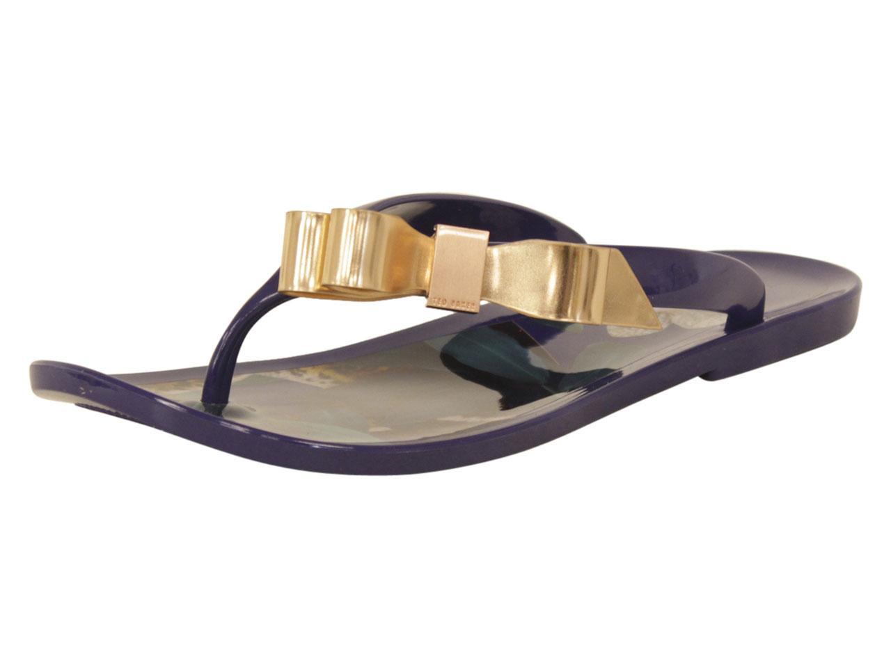 7072f3ff2 Ted Baker Women s Suzzip Flip Flops Sandals Shoes