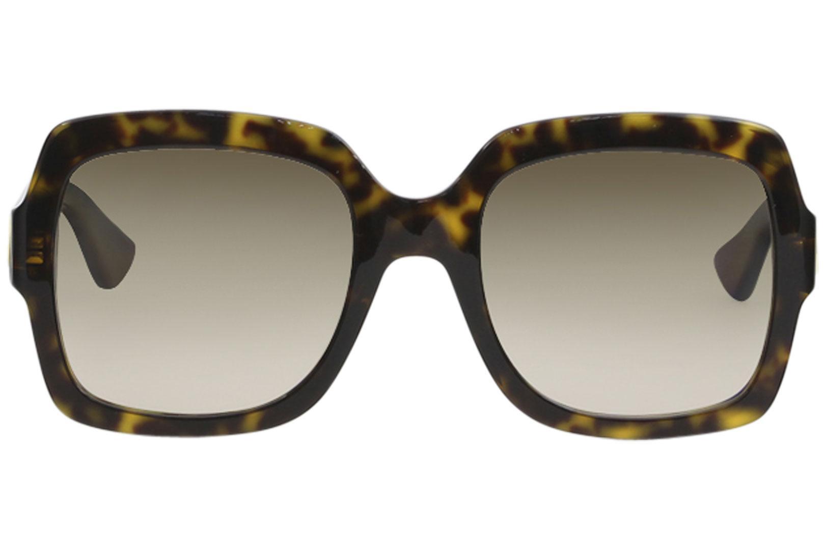 7c3e3e7f3e5e4 Gucci Women s GG0036S GG 0036 S Fashion Sunglasses