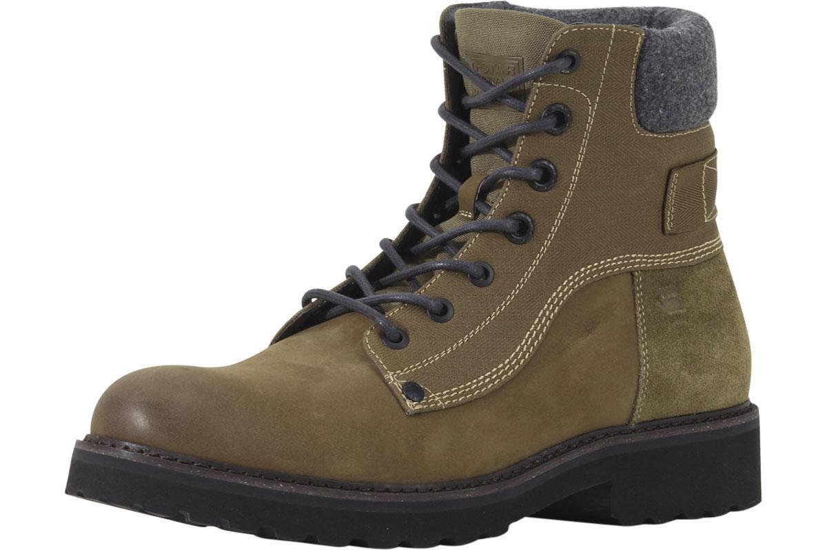 Image of G Star Raw Men's Carbur Boots Shoes - Khaki - 8 D(M) US