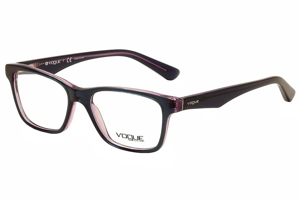 Image of Vogue Women's Eyeglasses VO2787 VO/2787 Full Rim Optical Frame - Green - Lens 51 Bridge 16 Temple 140mm