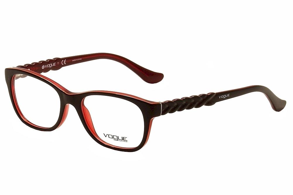 Image of Vogue Women's Eyeglasses VO2911 VO/2911 Full Rim Optical Frame - Brown - Lens 51 Bridge 17 Temple 140mm